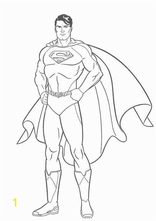 Superman Coloring Pictures to Print 14 Superman Malvorlagen Zum Ausdrucken 20 Ausmalbilder