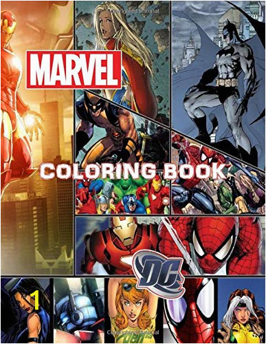 Marvel And DC Coloring Book For Kids Ages 4 8 Rainbow Books Coloring Books Unofficial von Rainbow Books