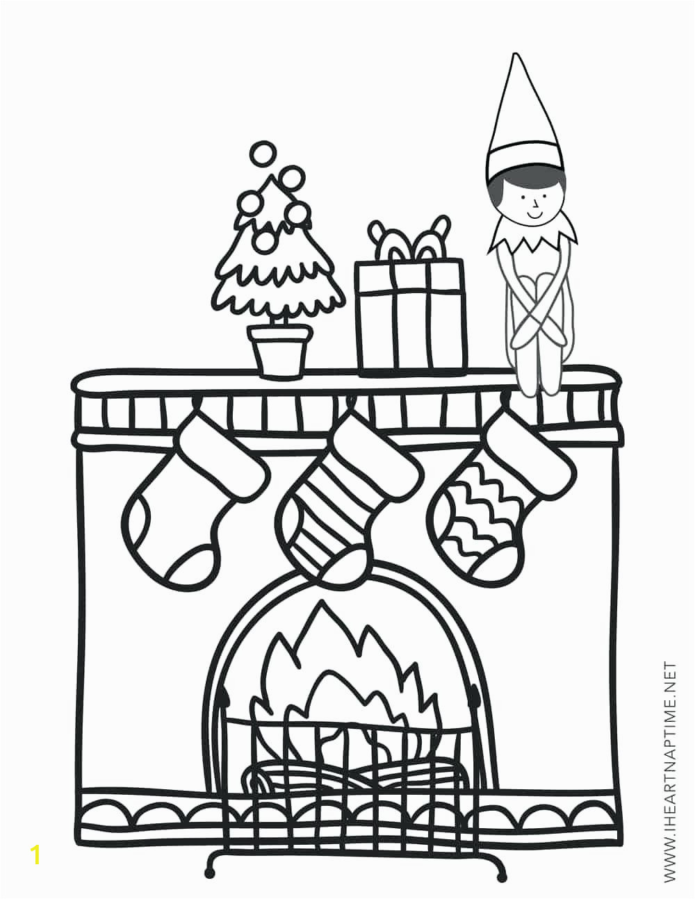 The Elf On the Shelf Coloring Pages | divyajanani.org