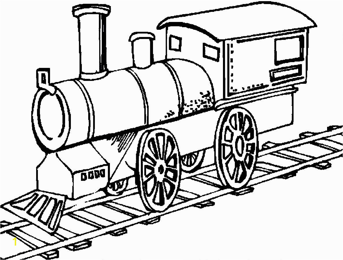 kids coloring pages train