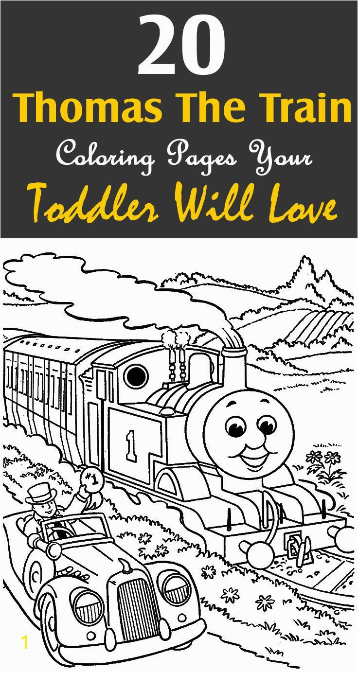 Train Coloring Pages for toddlers top 20 Free Printable Thomas the Train Coloring Pages Line