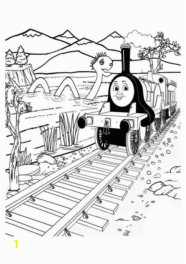 Train Coloring Pages for toddlers top 20 Thomas the Train Coloring Pages Your toddler Will