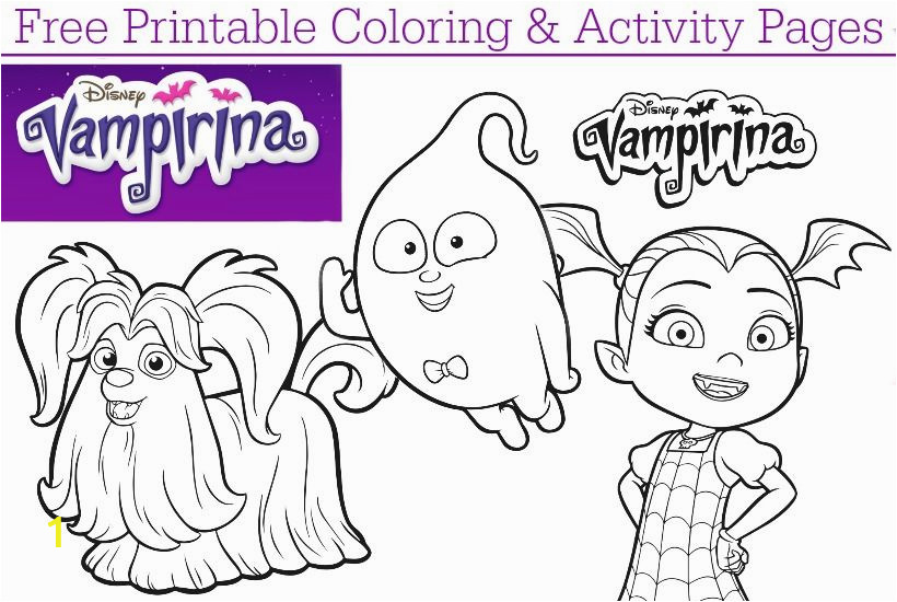 Vampirina Coloring Pages Disney Junior Disney Junior Vampirina Coloring Pages Dvd Giveaway
