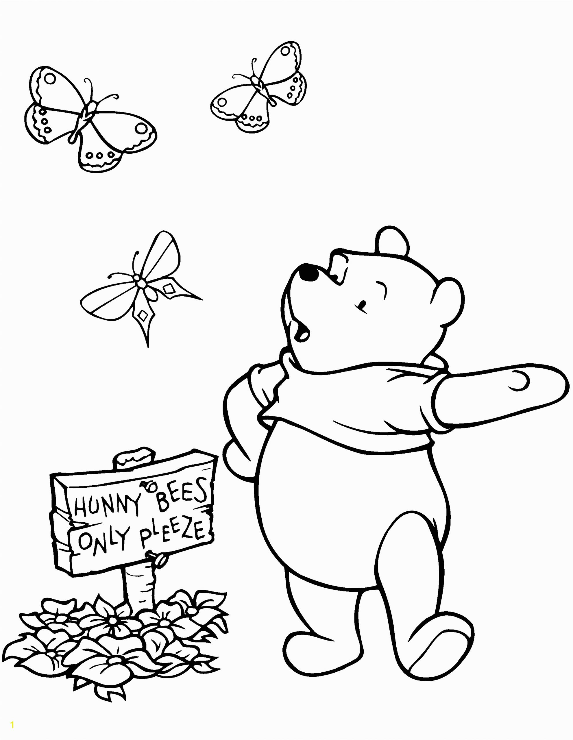 winnie the pooh coloring pages 68