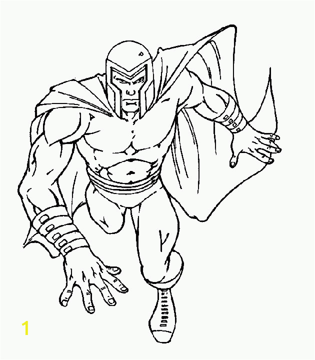 animated coloring pages x men image 0038