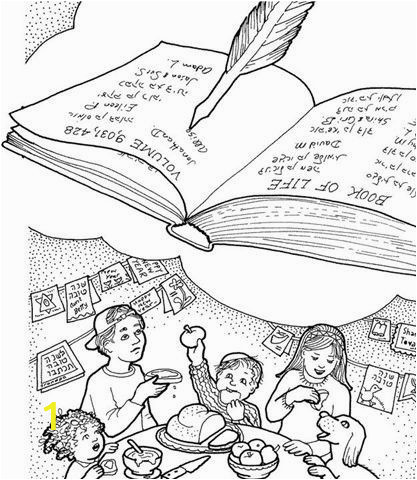 Yom Kippur Coloring Pages Printable Yom Kippur
