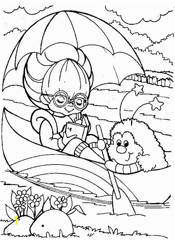 80 S Rainbow Brite Coloring Pages Rainbow Brite 999 Coloring Pages