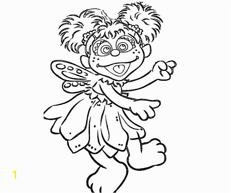abby cadabby coloring page