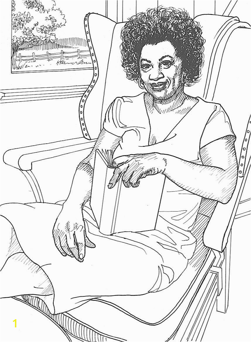 coloring pages of famous women