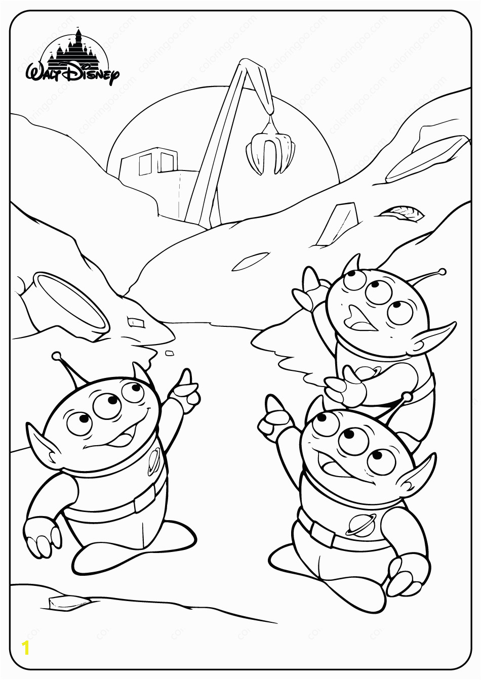 disney toy story aliens pdf coloring pages