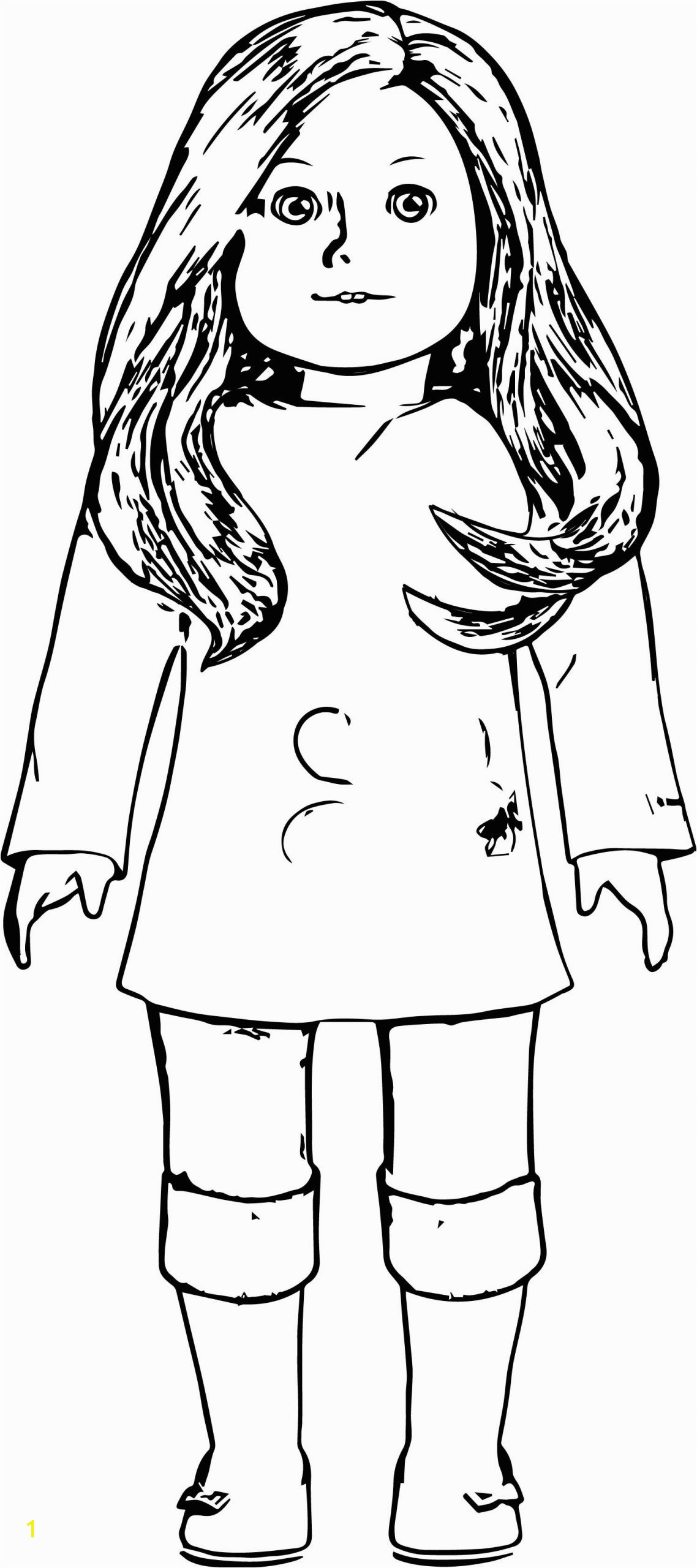 American Girl Doll Coloring Pages to Print American Girl Doll Coloring Pages to Print