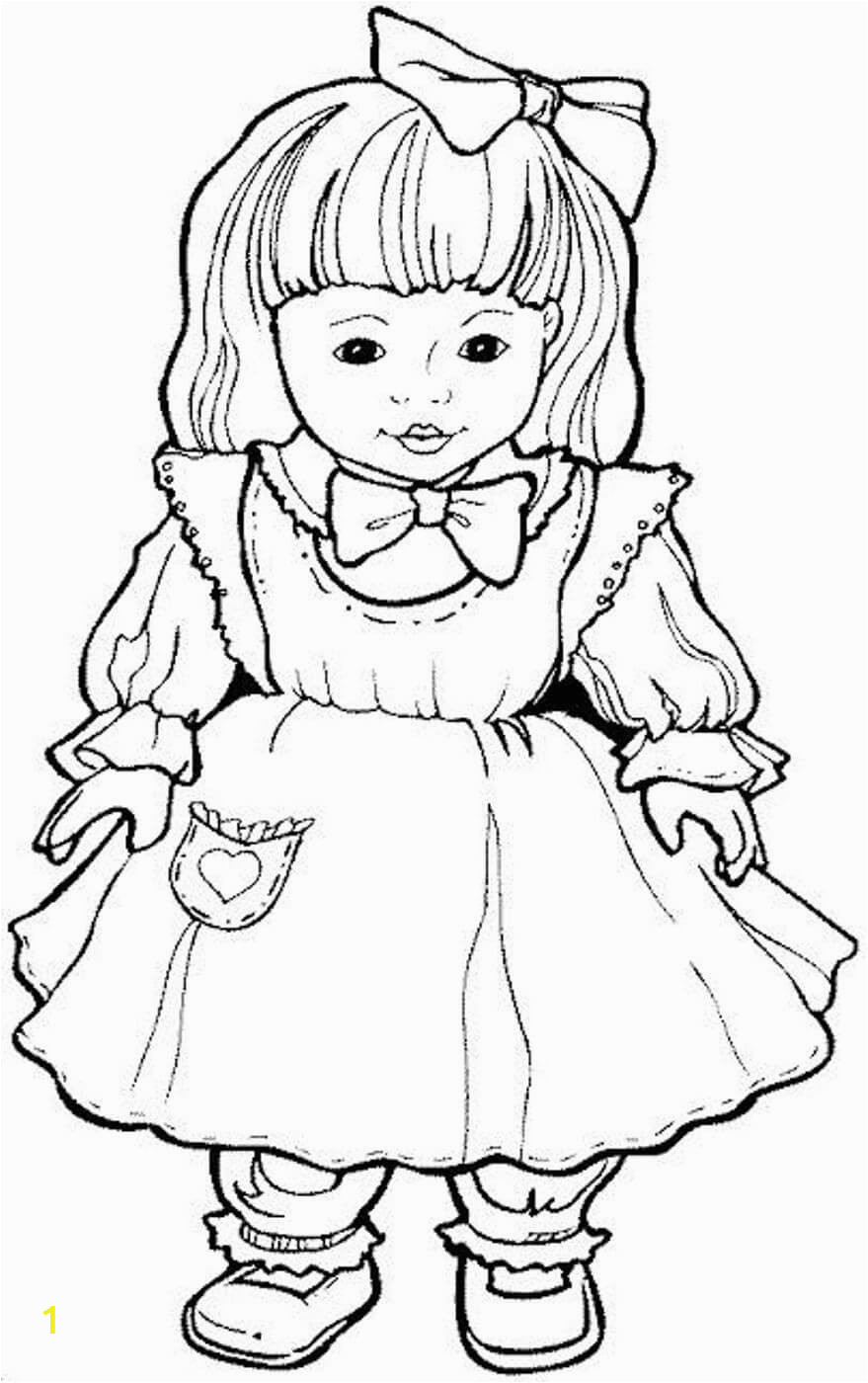 coloring pages of american girl dolls