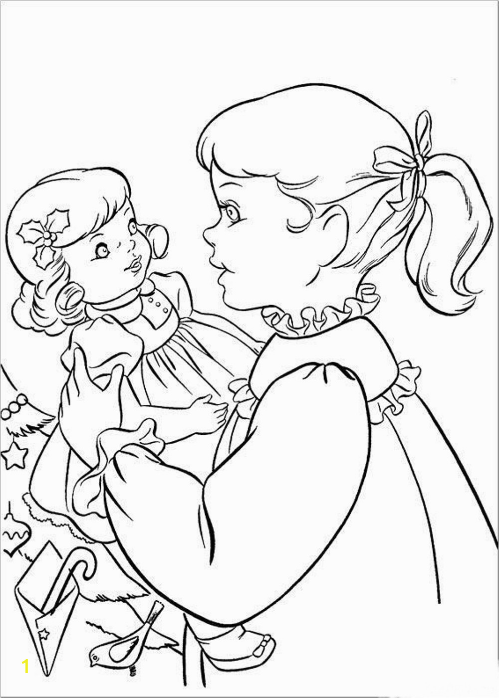 american girl isabelle coloring pages