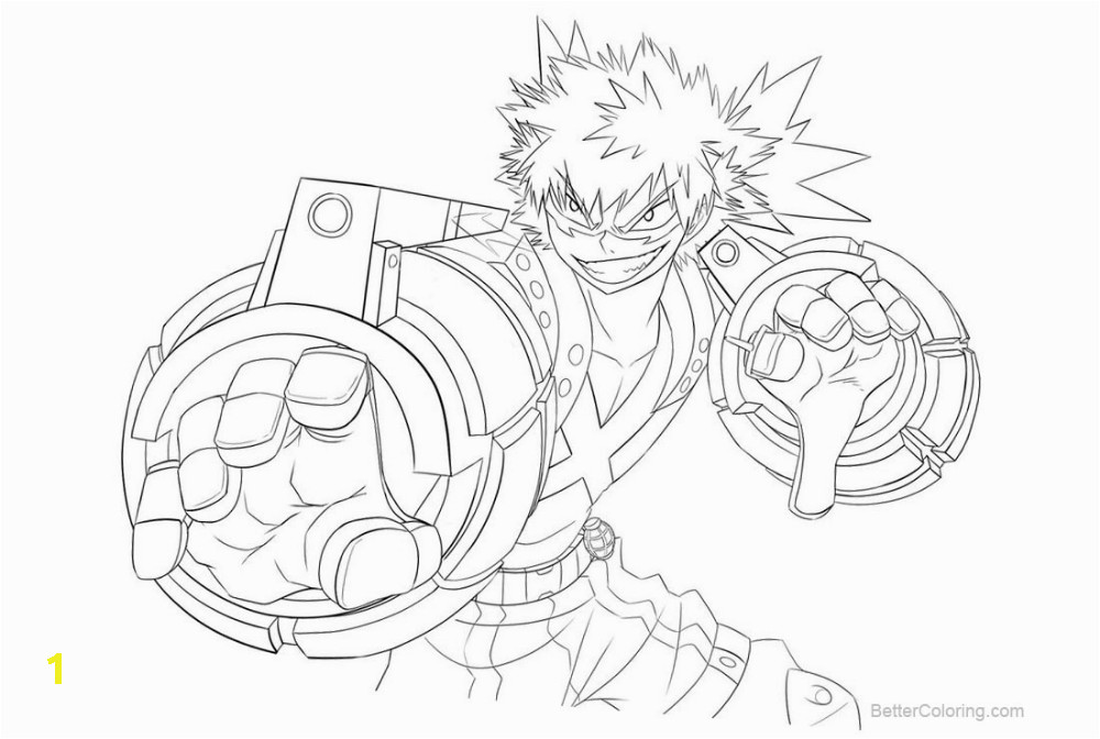 my hero academia coloring pages pictures