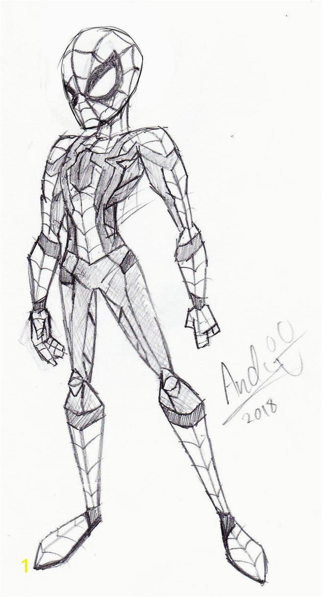 iron spider avengers infinity war