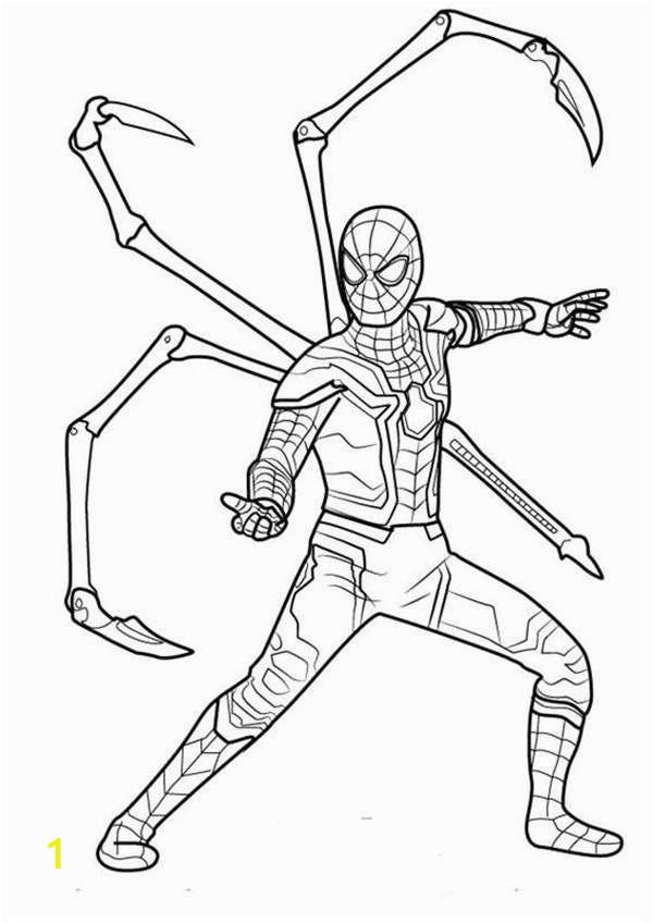 Iron Spider In Infinity War