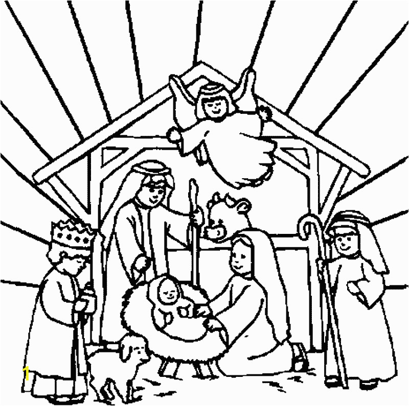 jesus born in manger pictures and