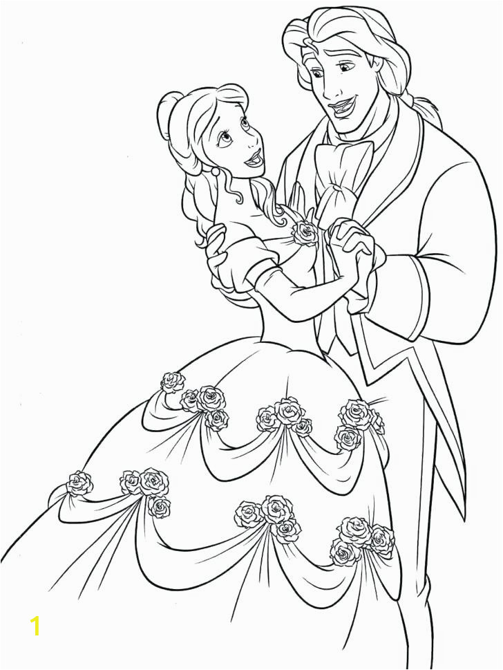 Beauty and the Beast Enchanted Christmas Coloring Pages Beauty and the Beast Christmas Coloring Pages at