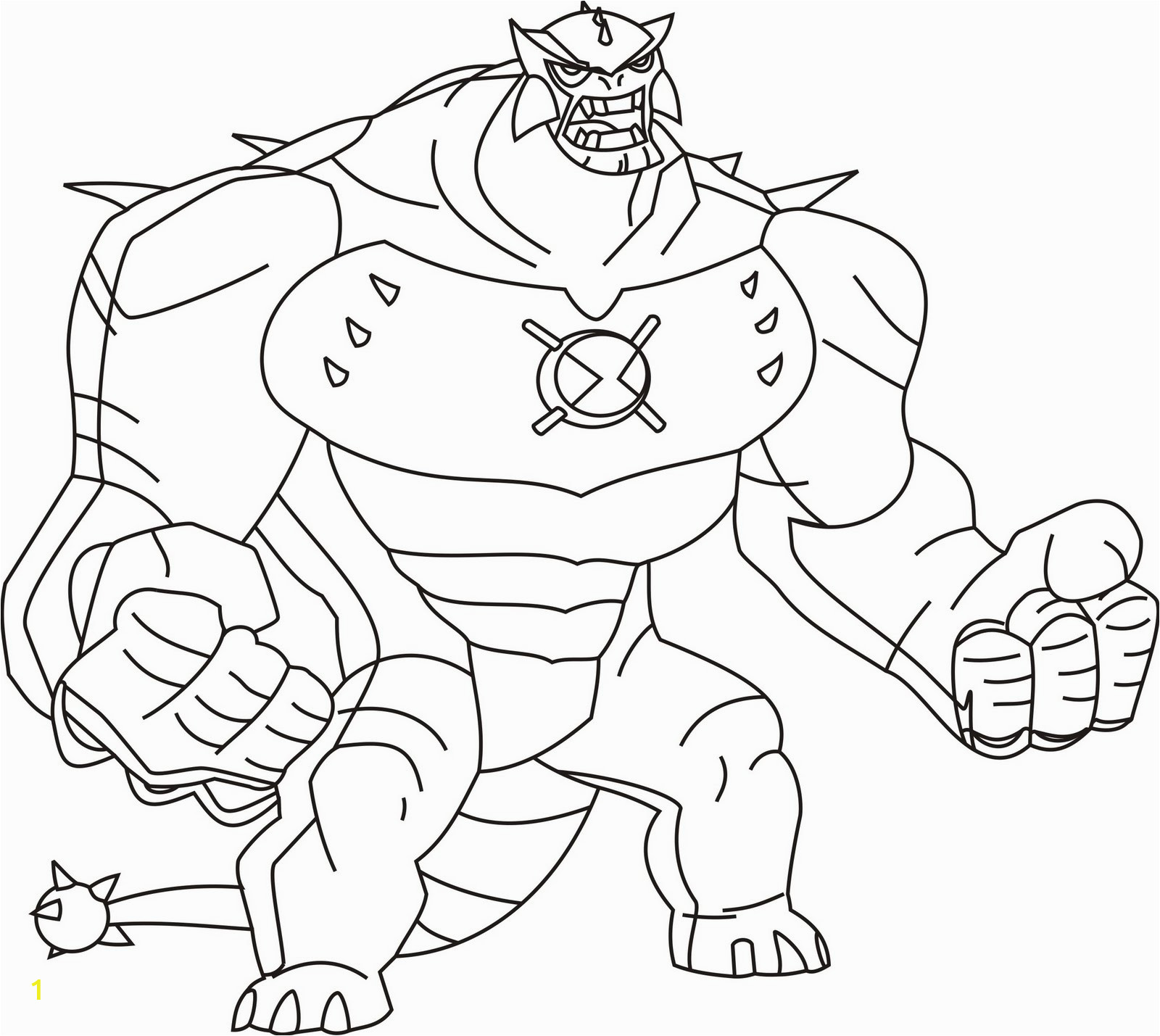 for ben 10 aliens coloring sketch templates