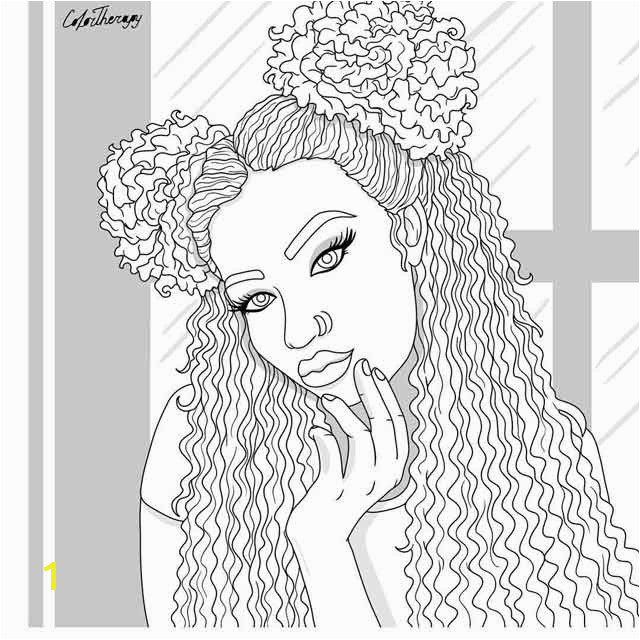 black girl coloring pages