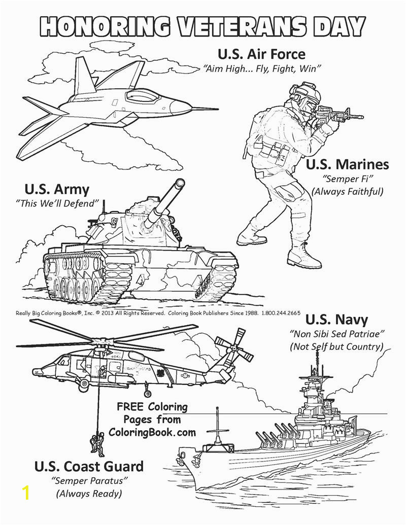 veterans day free coloring pages