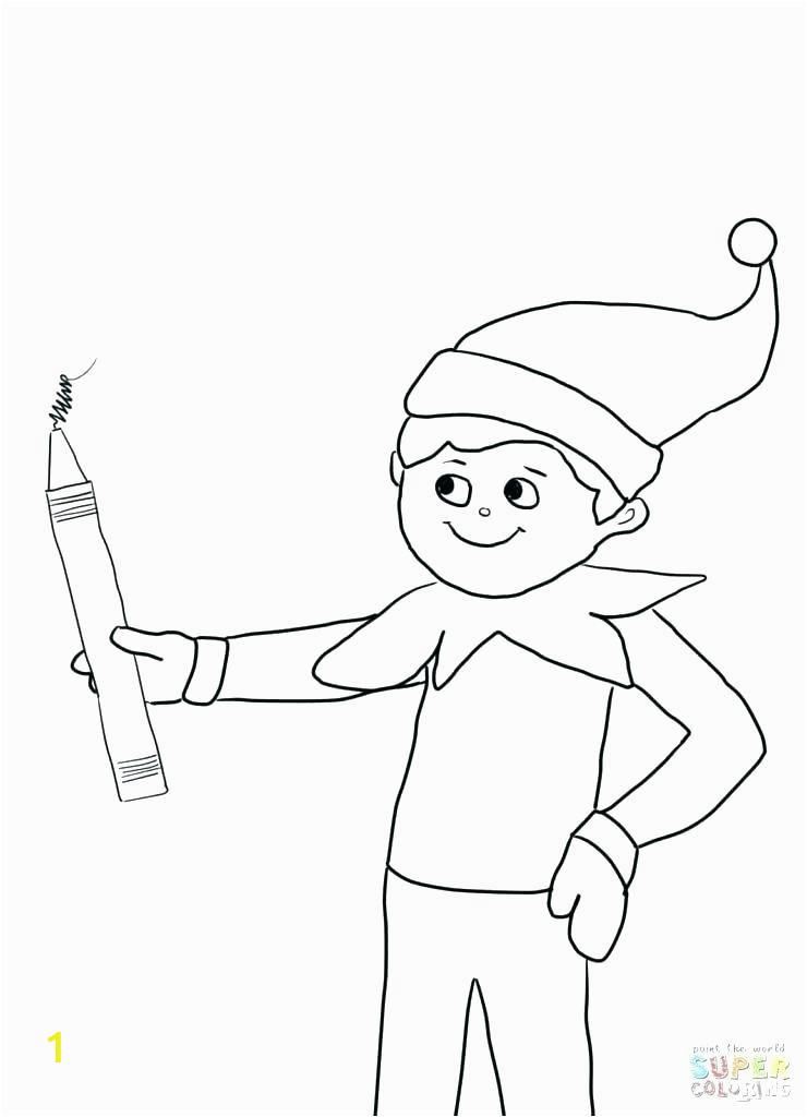 buddy the elf drawing