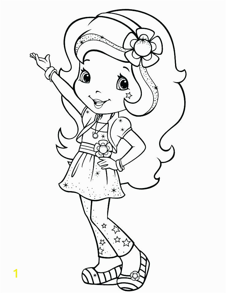 strawberry shortcake cherry jam coloring pages