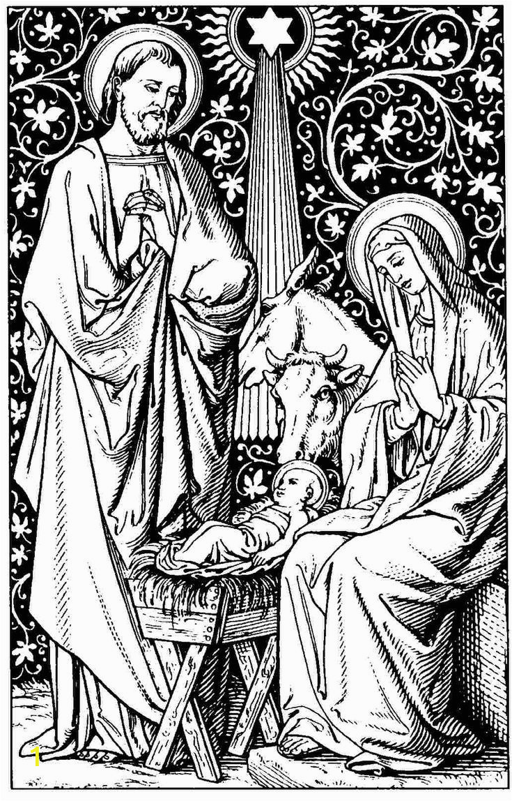 Christmas Nativity Coloring Pages for Adults A Christmas Story Coloring Pages Google Search