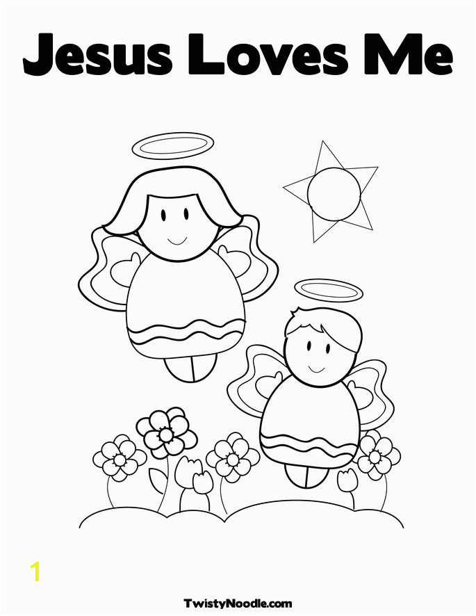 Coloring Pages for Jesus Loves Me Coloring Pages Jesus Loves Me