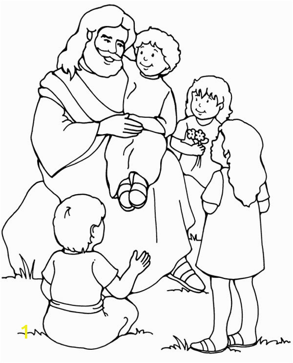 Coloring Pages for Jesus Loves Me Jesus Love Me and the Other Children too Coloring Page