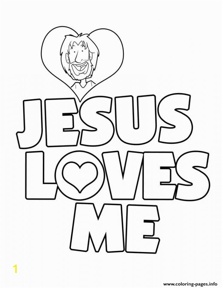 Coloring Pages for Jesus Loves Me Jesus Loves Me Coloring Page Neo Coloring