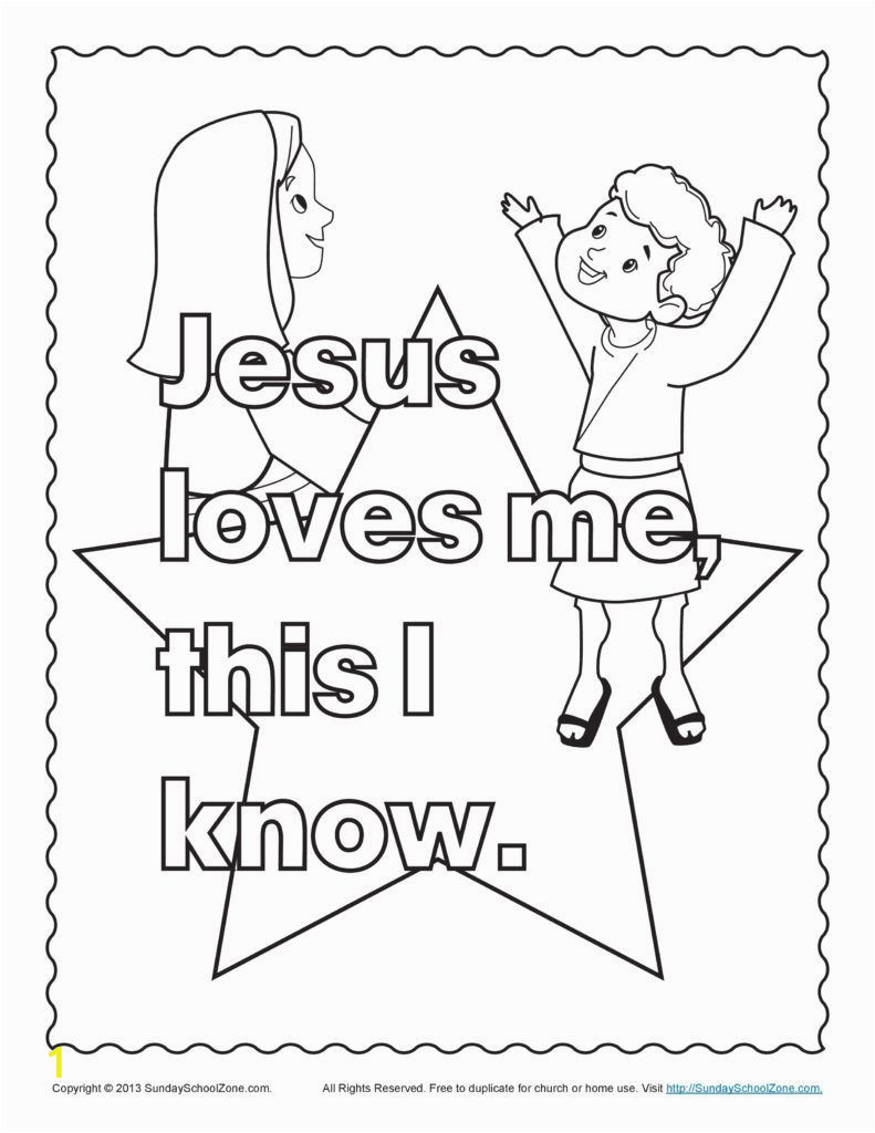 Coloring Pages for Jesus Loves Me Starry Shine Jesus Loves Me Coloring Pages Printables