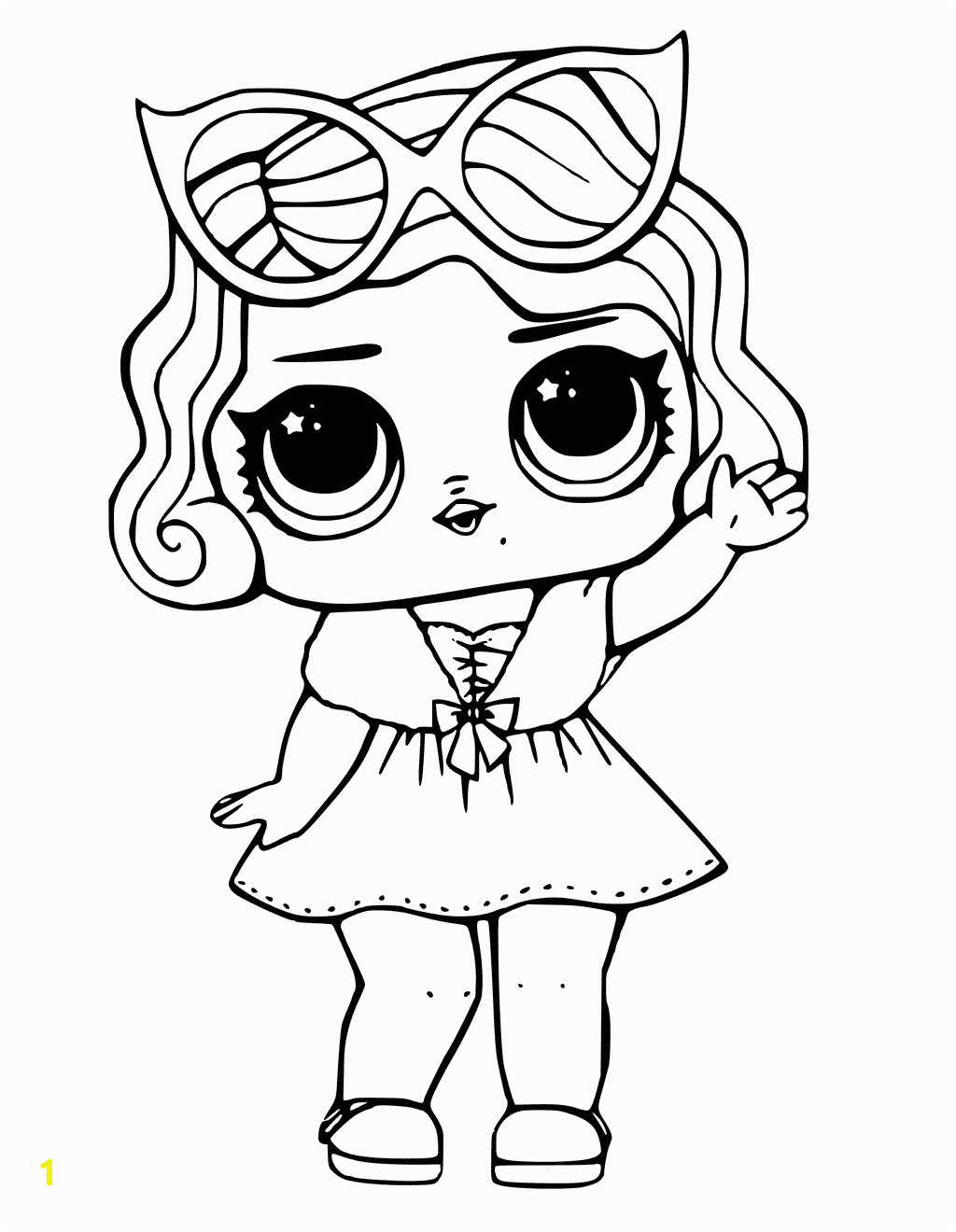 Coloring Pages for Kids Lol Dolls Lol Dolls Coloring Pages Best Coloring Pages for Kids