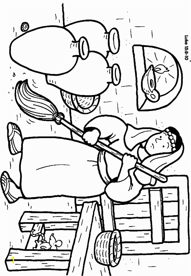coloring pages for preschoolers parable of lost sheep