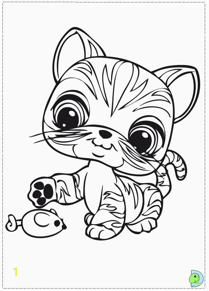 coloring pages littlest pet shop