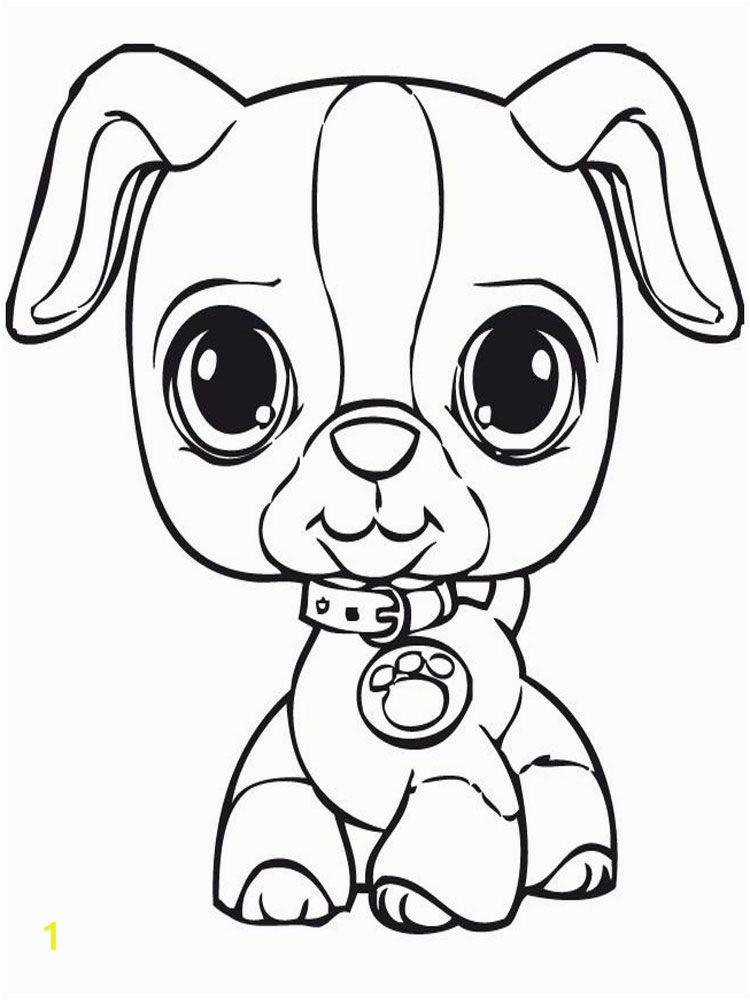 littles pet shop coloring pages
