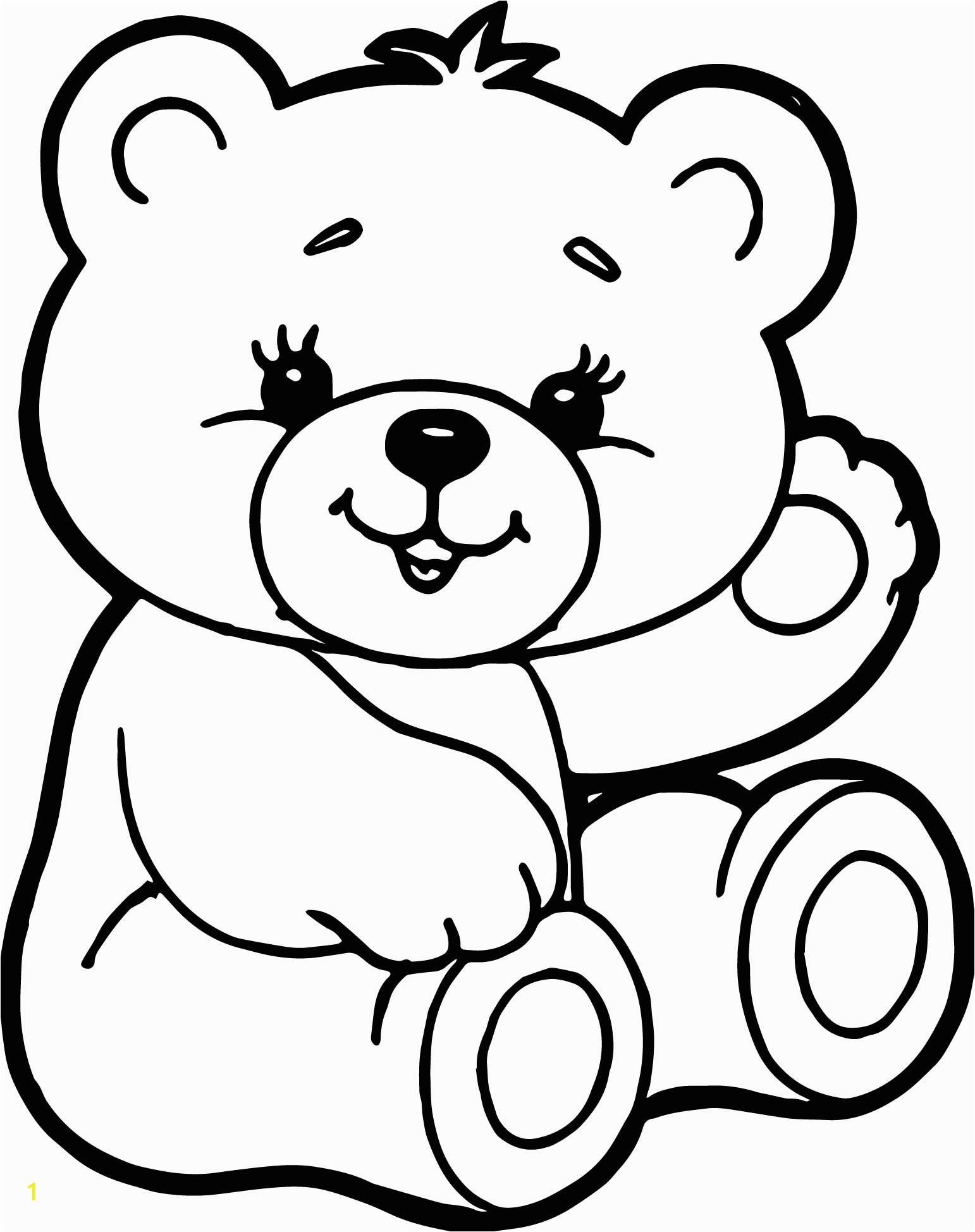 bear cute drawing