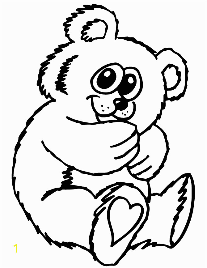teddy bear cartoon drawing