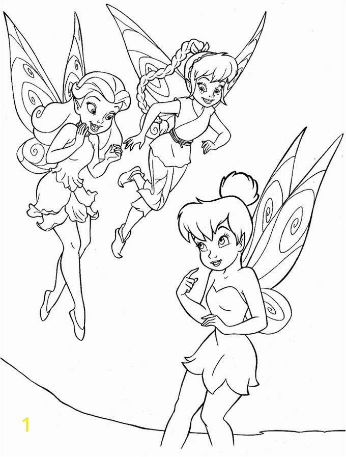 tinkerbell and friends drawing