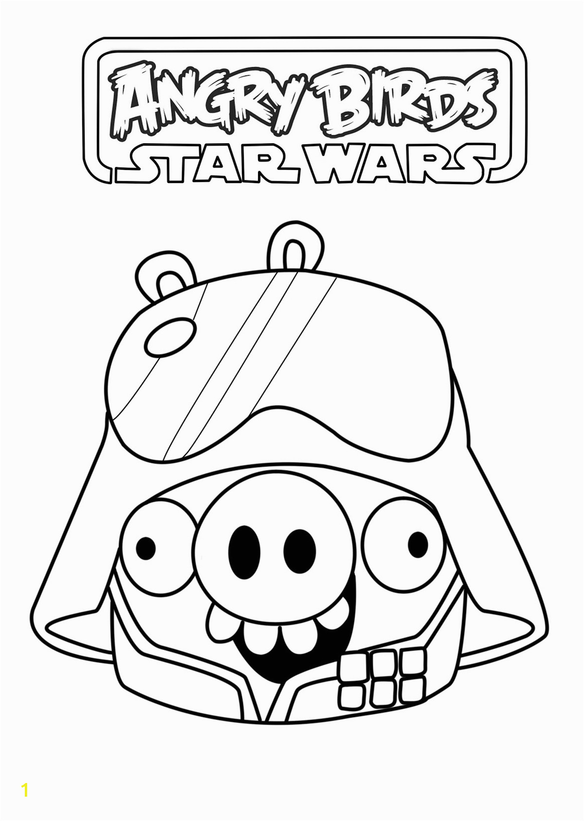 image=angry birds star wars Coloring for kids angry birds star wars 1