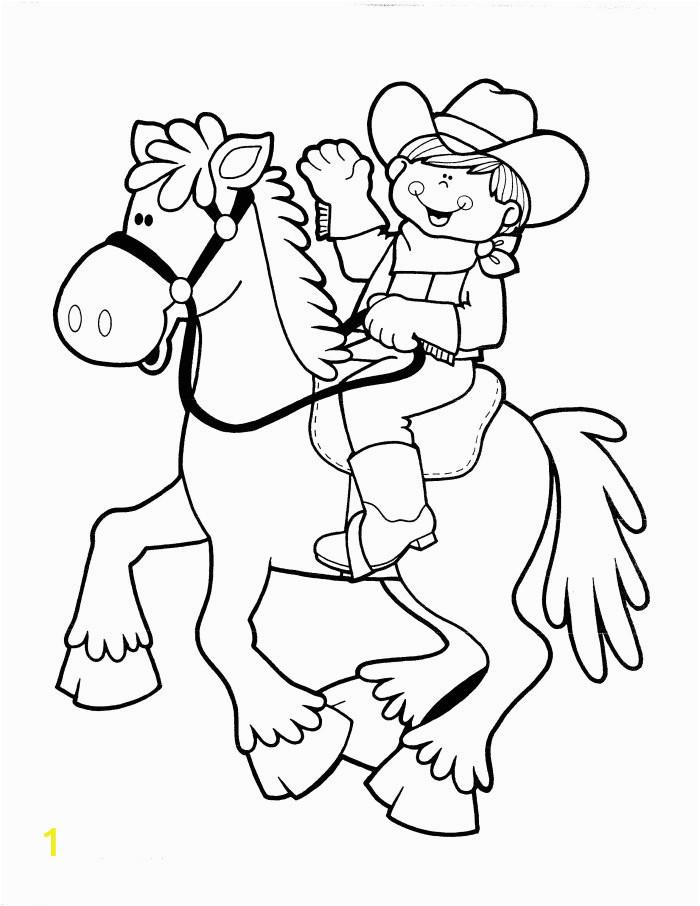 cowboy coloring pages 5 2