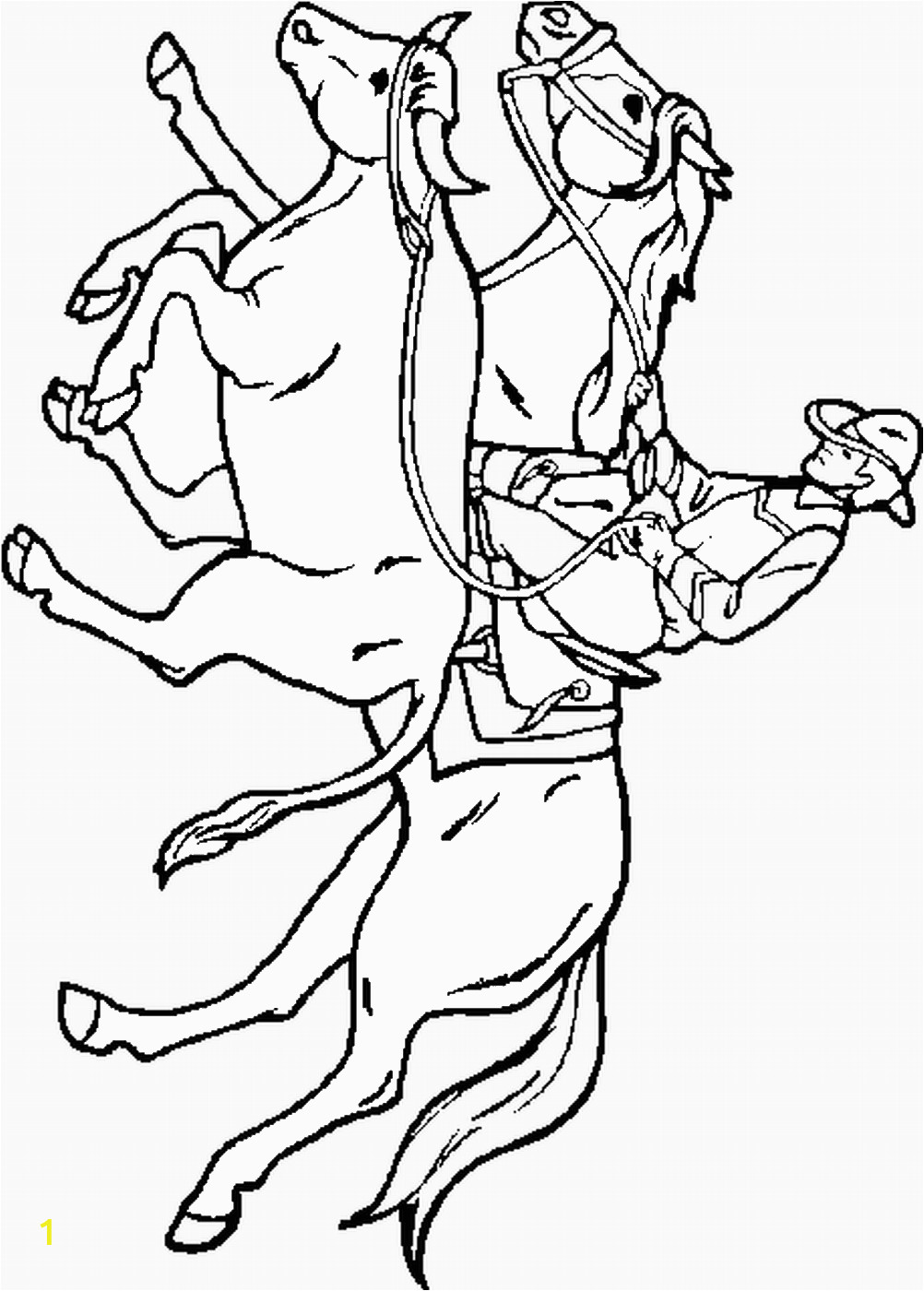 Cowboy Coloring Pages to Print Free Cowboy Coloring Pages
