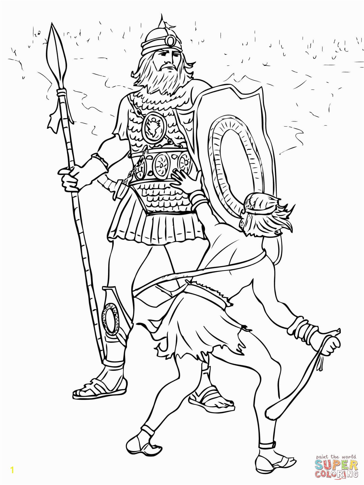 david and goliath fight