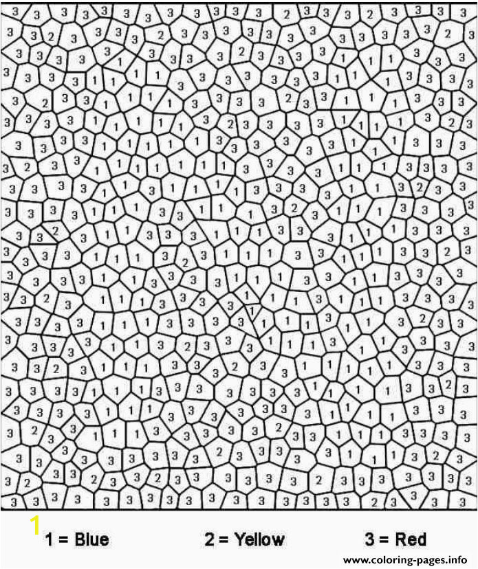 really difficult color by number for adults printable coloring pages book