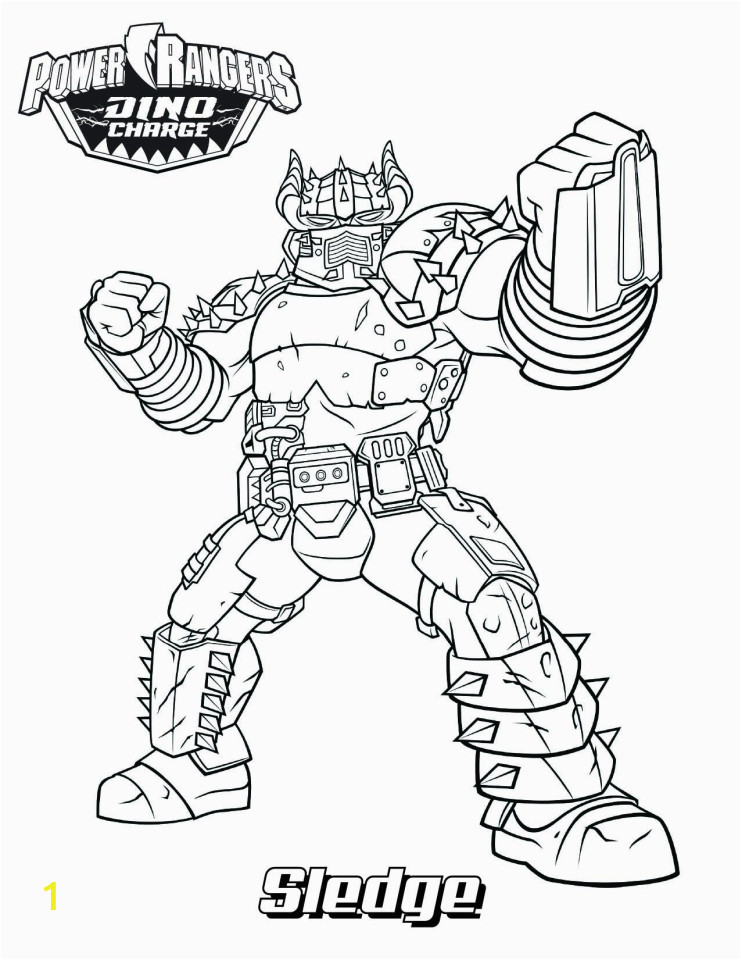 power ranger dino force coloring pages for kids