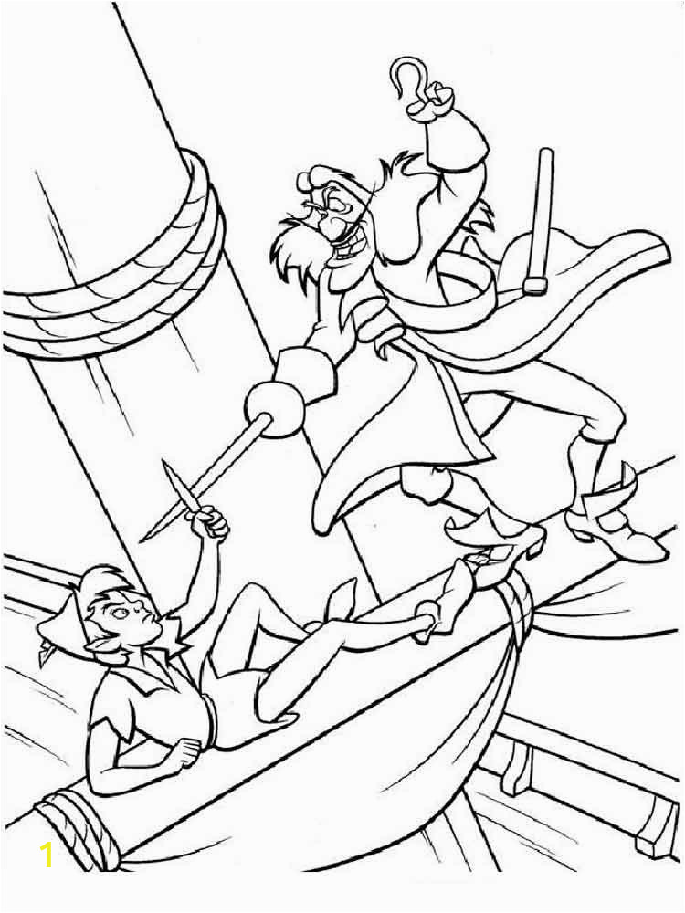 Disney Peter Pan Coloring Pages Free Peter Pan Coloring Pages Download and Print Peter Pan
