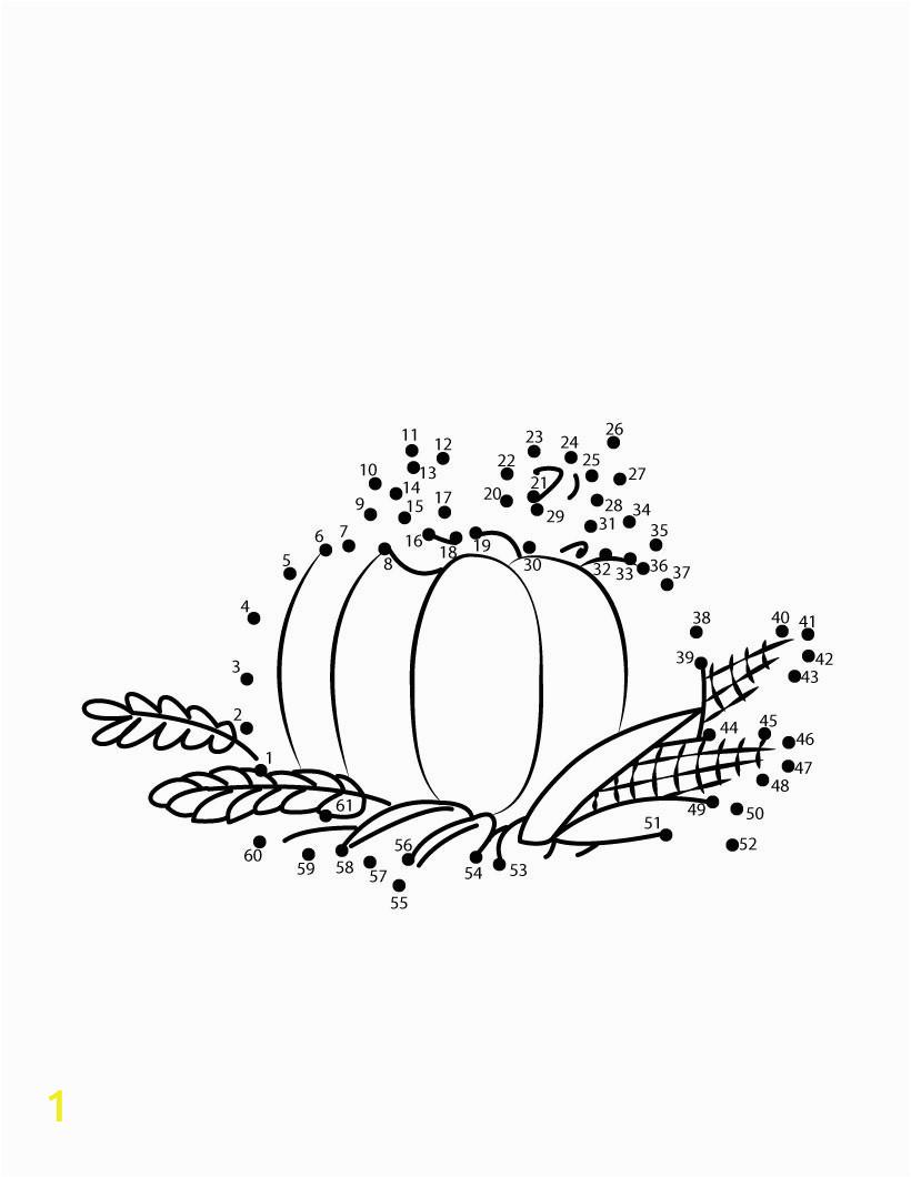 elegant thanksgiving dot to dot