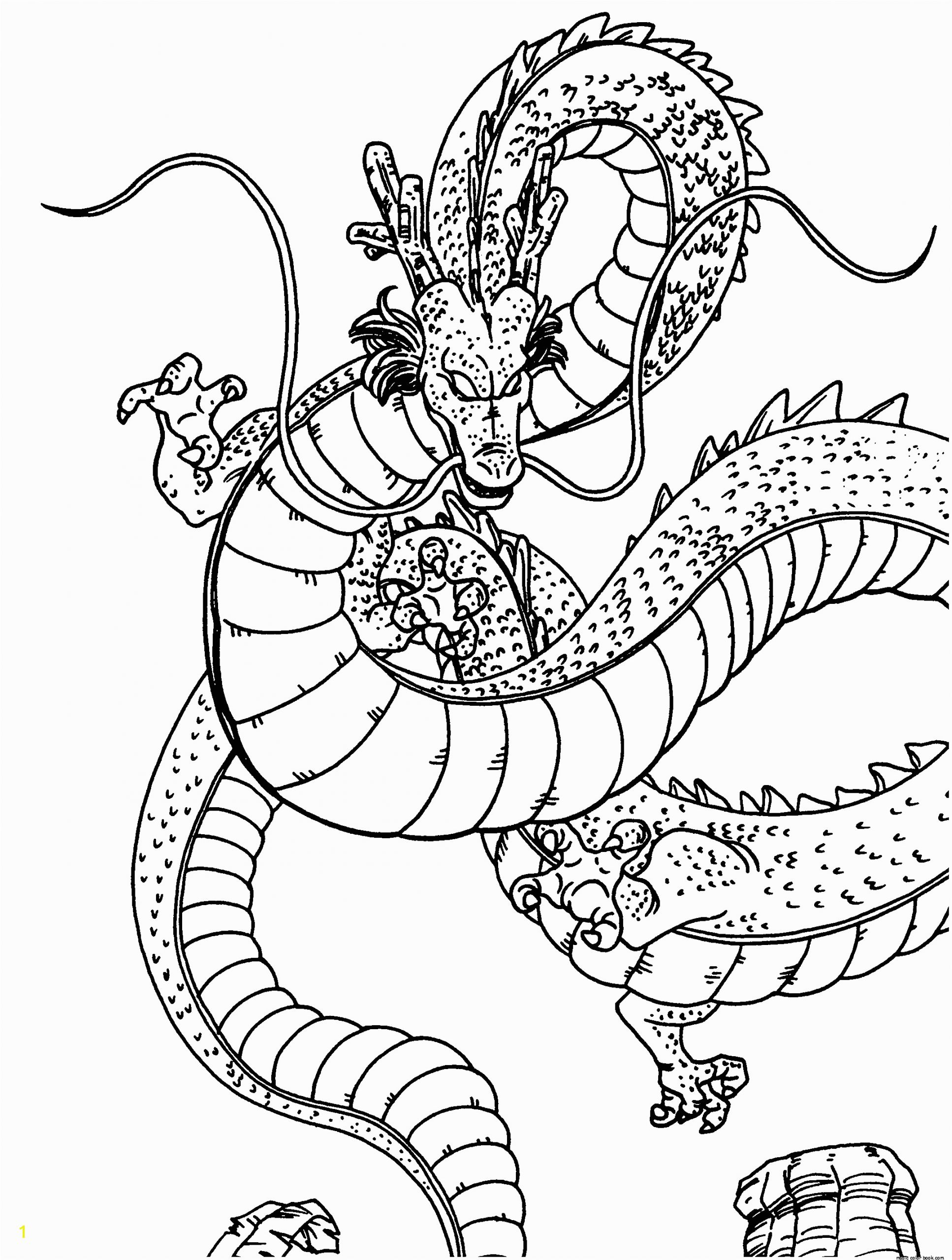 dragon ball coloring pages