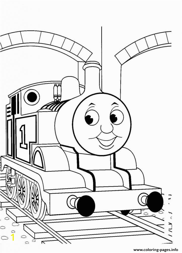 Easy Thomas the Train Coloring Pages Kids Easy Thomas the Train Sd0cb Coloring Pages Printable