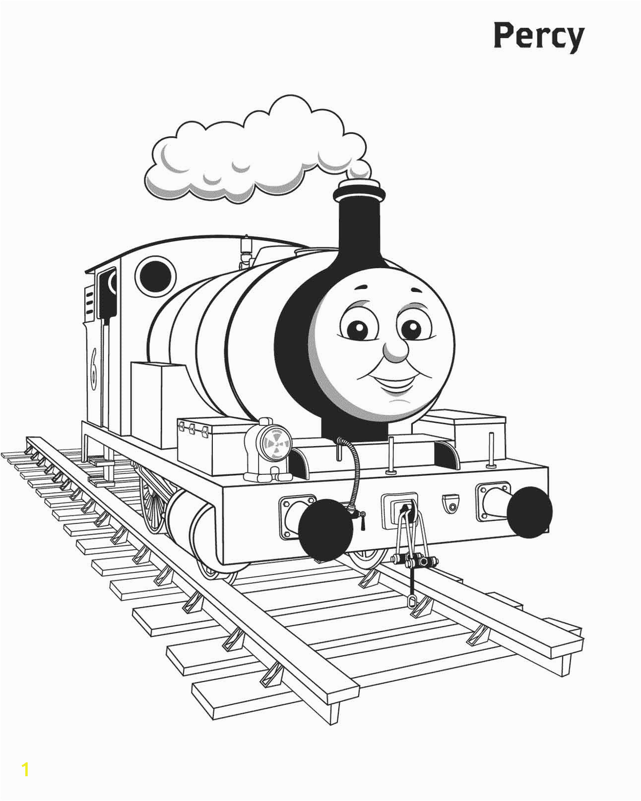 simple coloring pages thomas the train printable thomas the train coloring pages for percy to print pictures